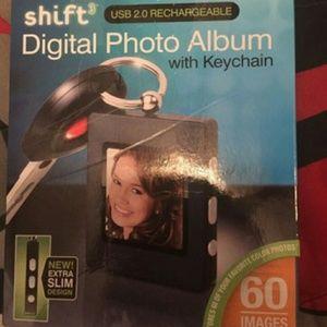 Photo album key chain